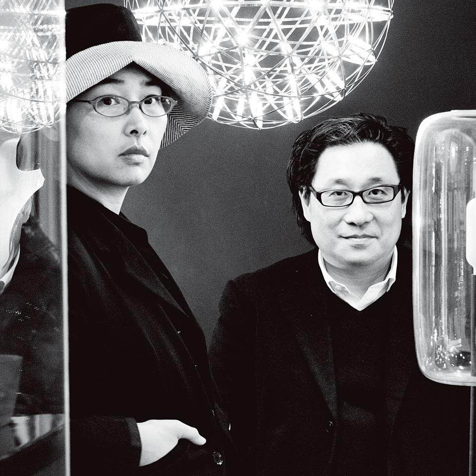胡如珊(左)郭锡恩(右)