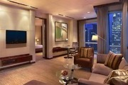 深圳君悅酒店 Grand Hyatt Shenzhen:位于羅湖區核心地帶,酒店建筑的頂部尖塔是一系列餐飲空間和大堂的...