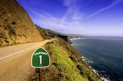 加利福尼亚州的1号线路,几乎穿越了加利福尼亚州整个西部海岸。这条线路中位于圣路易?#32321;人?#27874;和蒙特里之...