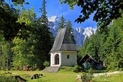 特里格拉夫山(Mount Triglav),斯洛文尼亚从意大利东北部延伸至斯洛文尼亚,是尤利安阿尔卑斯山脉的最...
