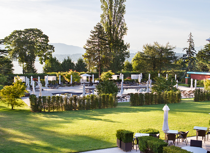 """La Réserve日内瓦酒店""""花园时光""""计划 夏日清凉玩法初体验"""