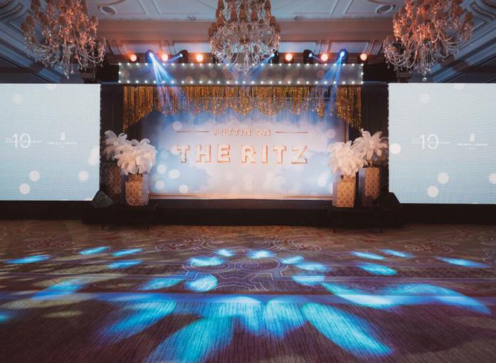 北京丽思卡尔顿酒店十周年庆典华丽举办