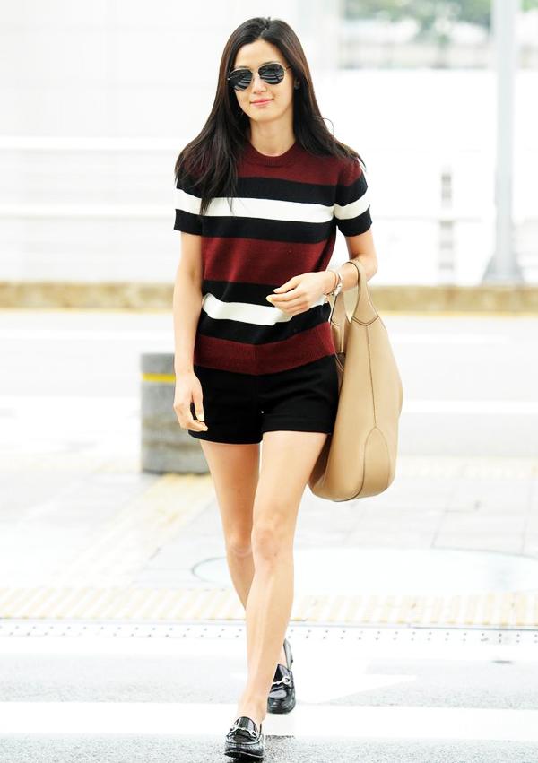 跟着韩国明星学搭配 很适合亚洲女孩的穿衣术