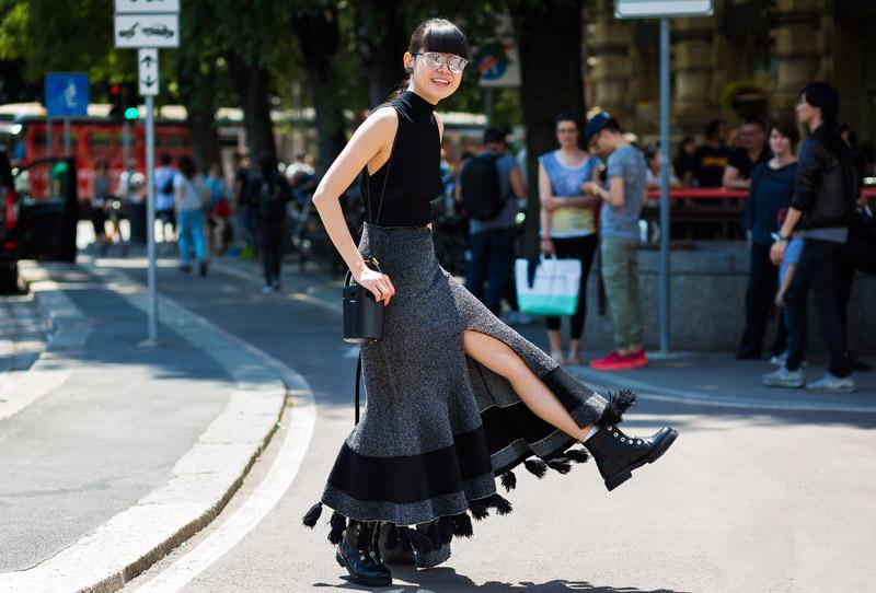 开衩裙才是属于今夏的时髦!更是衣橱里百搭的绝佳好物
