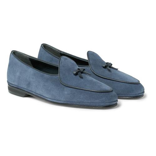 蓝色绒皮鞋可曾是摇滚圈的最爱