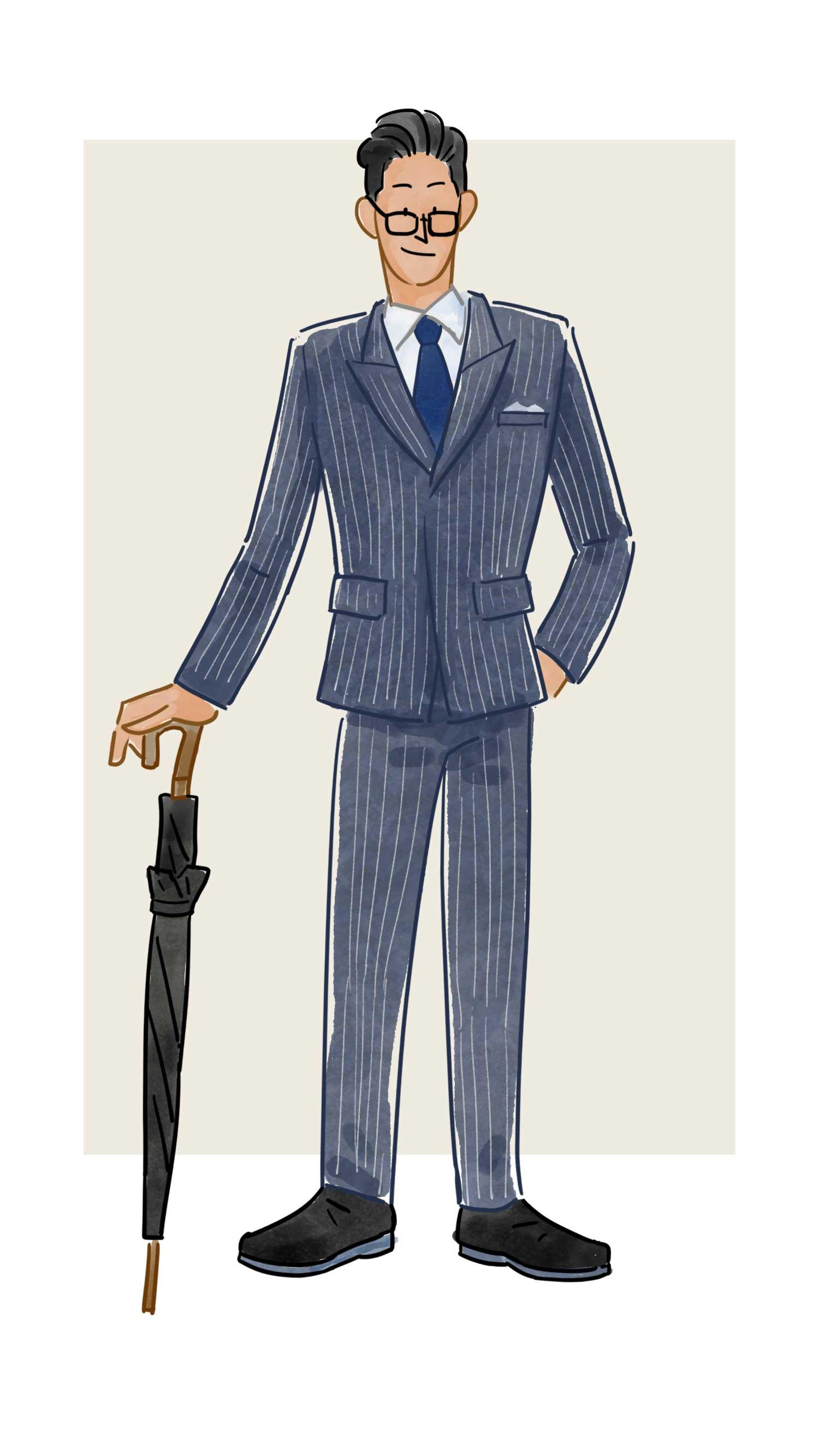 每日穿搭|《kingsman》不只是电影,还是精英穿搭指南
