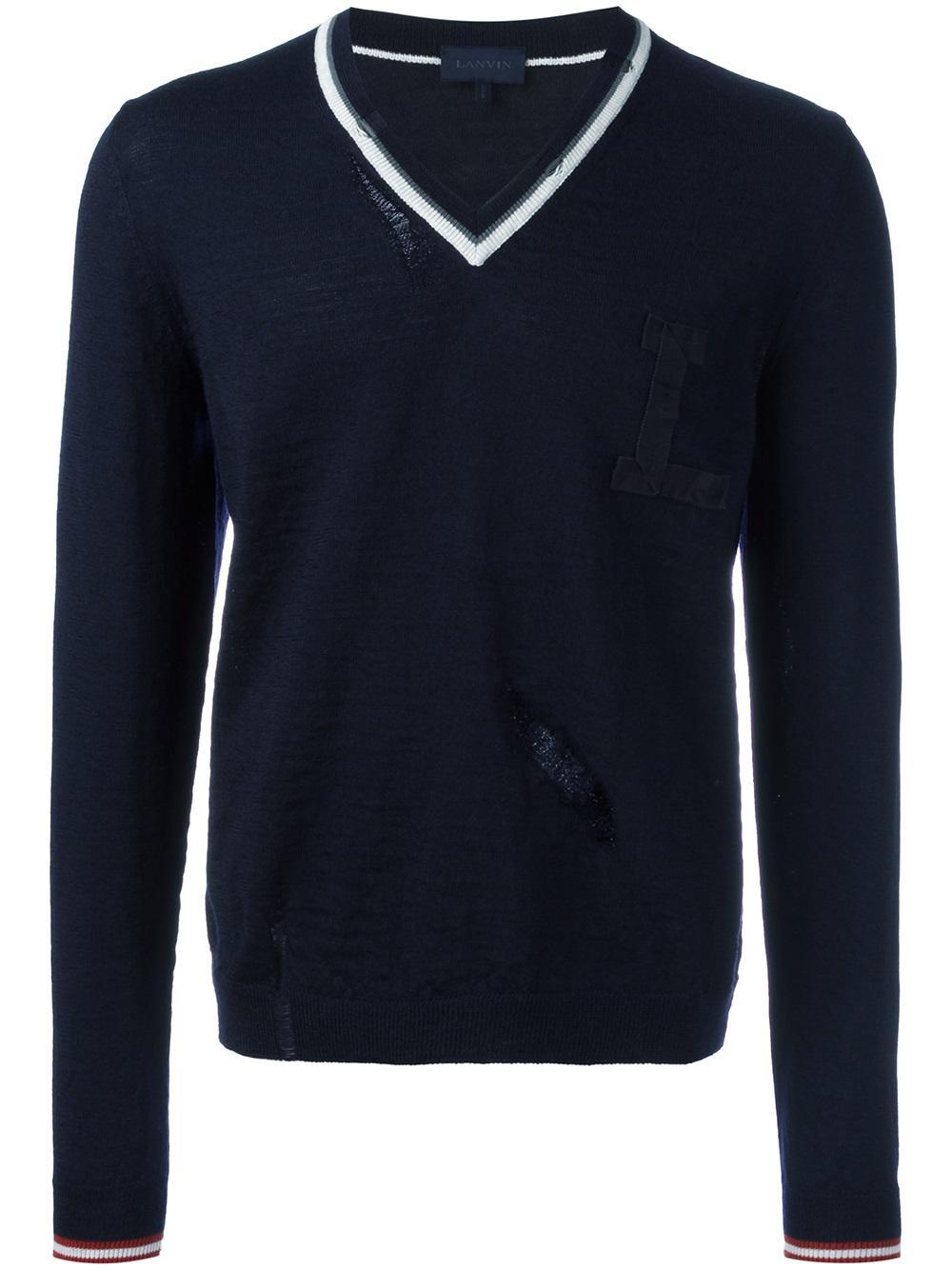每日穿搭|秋雨落后该穿轻薄V领毛衫了