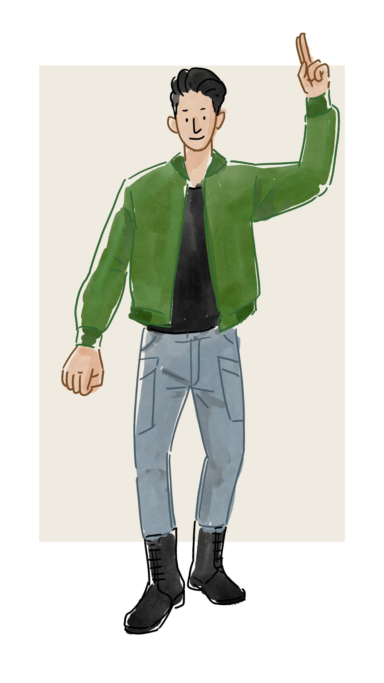 每日穿搭|有比羽绒款飞行员夹克更酷的冬季外套么?