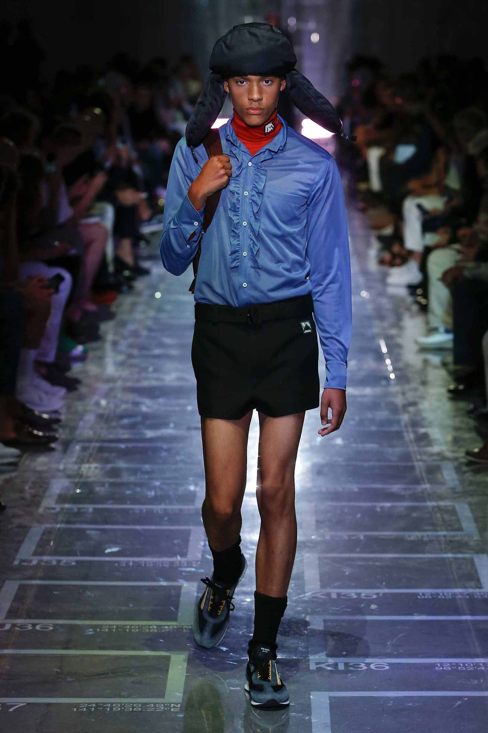 Look 50 from the Spring/Summer 2019 collection