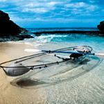 通体透明的运动划艇