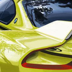 BMW 3.0 CSL Hommage概念车预告图发布