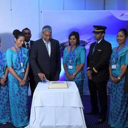 斯里兰卡航空成为全球首家飞往甘岛的国际航空公司