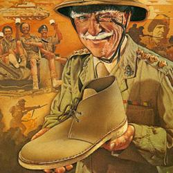 霸气野性的沙漠靴