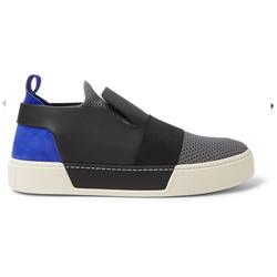 多材质拼接板鞋