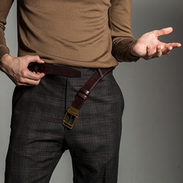 男人在什么时候要穿腰带
