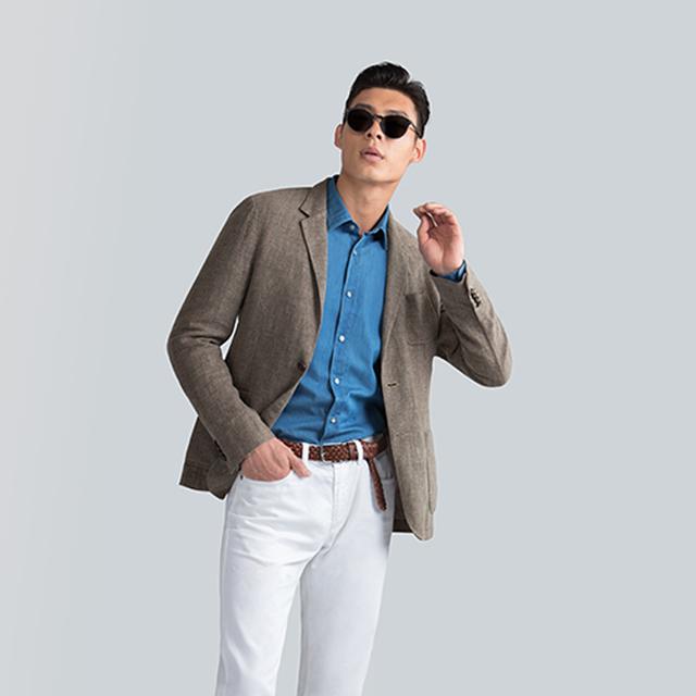 这里有一些穿好白裤子的指南