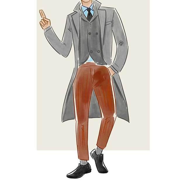每日穿搭|怀旧又温暖的灯芯绒长裤