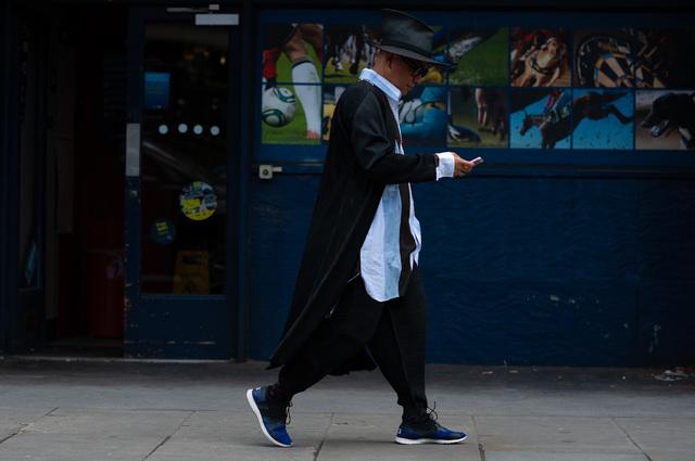 2019年6月伦敦男装周街拍DAY1