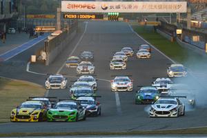 玛莎拉蒂Trofeo世锦赛在上海国际赛车场开赛