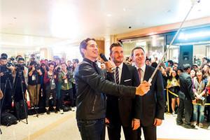 大卫•贝克汉姆为澳门最奢华购物中心四季名店开幕