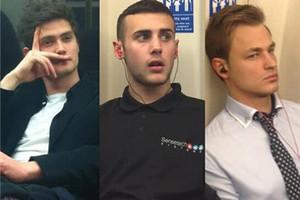 网友围观伦敦地铁小鲜肉 帅到上BBC头条