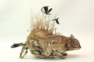 Ellen Jewett的奇幻雕塑