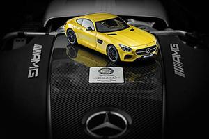 梅赛德斯AMG GT原厂手工车模发售