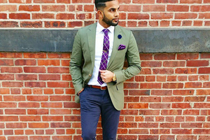知道你懒 这有搭配好的领带与方巾推荐
