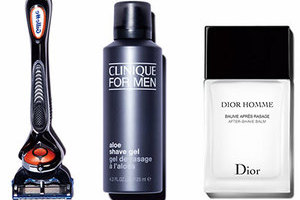 2015GQ年度美容之选 剃须和防晒类