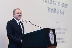 开云集团CEO弗朗索瓦–亨利皮诺发表关于可持续时尚演讲
