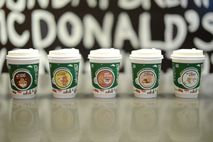 麦咖啡圣诞绿杯上市和姜饼人一起玩转创意吃法