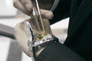 真的可以食用!世界上最袖珍的便当手表