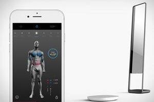3D全扫描技术 随时掌握健身状况