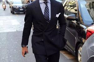 职场精英男穿衣课程:米兰男人的着装窍门