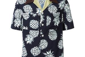 夏日里的文艺Bowling shirt