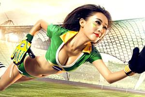 中国足球宝贝们汹涌来袭