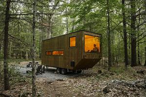 逃离都市做个隐士!GETAWAY自然休闲木屋