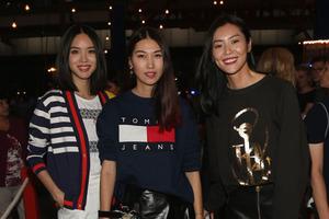 马苏、张梓琳、刘雯等明星亮相#TOMMY NOW2016秋季时装秀