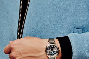 玩真格的的时装腕表