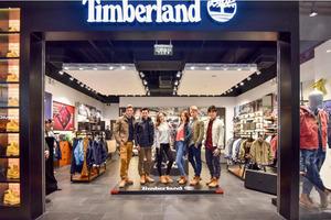 Timberland上海来福士全新形象店活力开幕