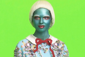 Gucci寻觅了一群外星人来代言