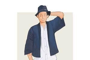 每日穿搭丨渔夫帽要配和风开衫啊