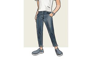 每日穿搭|牛仔裤如何含蓄的与众不同