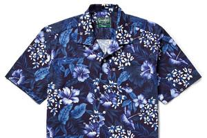 """如何搭配一件""""骚气""""的花衬衫"""