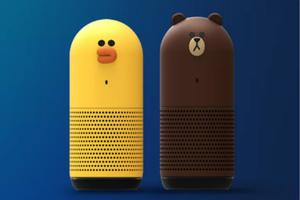 你看这只布朗熊可爱吗?LINE也加入了智能音响的队伍