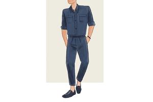 每日穿搭|连体裤可能是荷尔蒙散发最强烈的服装了