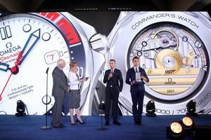 """欧米茄致敬007系列电影 发布海马系列300米潜水表""""指挥官""""限量版腕表"""