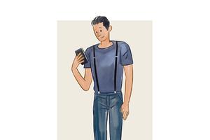 每日穿搭|用背带给基本款T恤做个升级