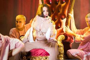 2017 MTV全球华语音乐盛典 蔡依林狂野热舞