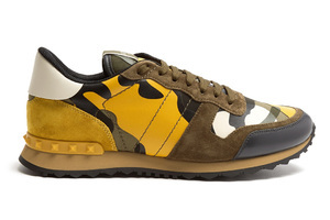 三种方式穿搭全新配色的迷彩运动鞋